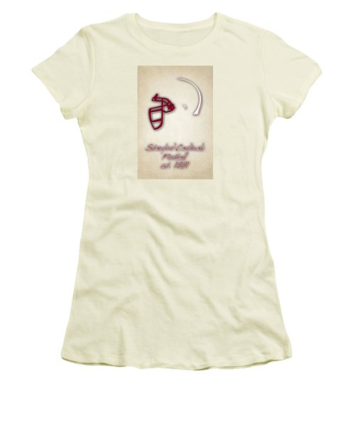 Stanford Cardinals Women's T-Shirt (Athletic Fit)
