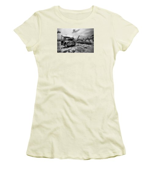 The Last Tow Women's T-Shirt (Athletic Fit)