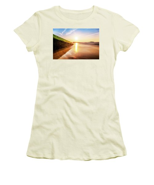 Touching The Golden Cloud Women's T-Shirt (Athletic Fit)