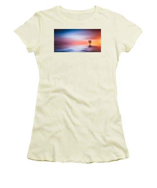 Tree Women's T-Shirt (Junior Cut) by Bess Hamiti