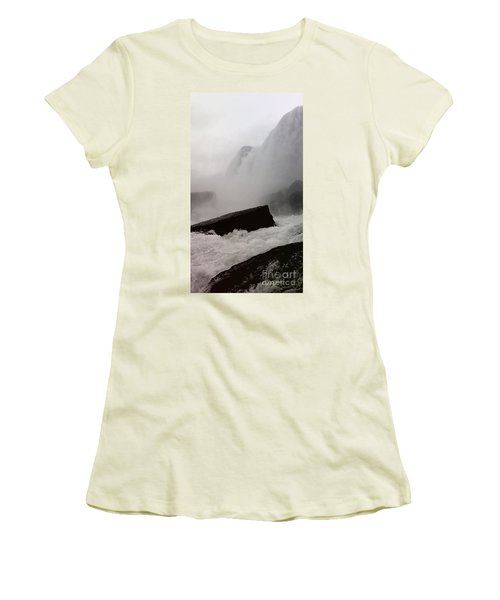 Waterfall Women's T-Shirt (Athletic Fit)