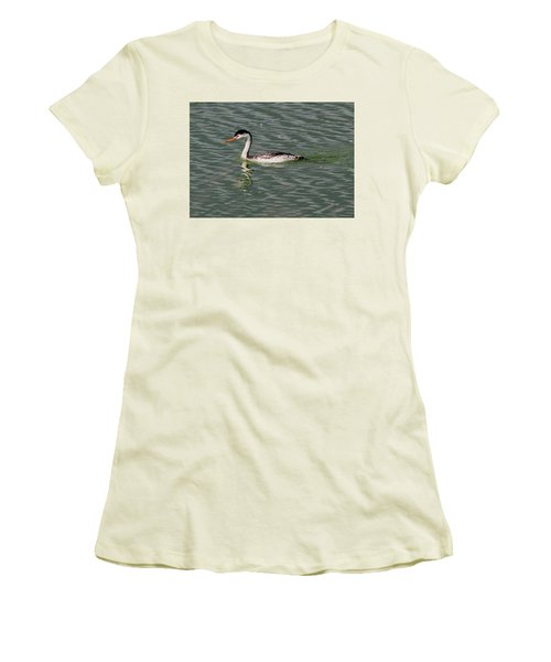 Western Grebe Women's T-Shirt (Athletic Fit)