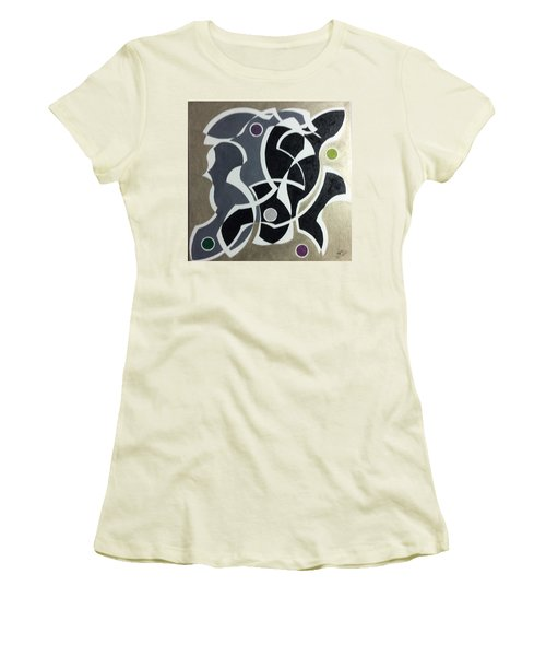 Winter Women's T-Shirt (Junior Cut) by Hang Ho
