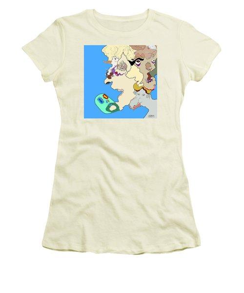 Wysiwyg1v1 Women's T-Shirt (Athletic Fit)