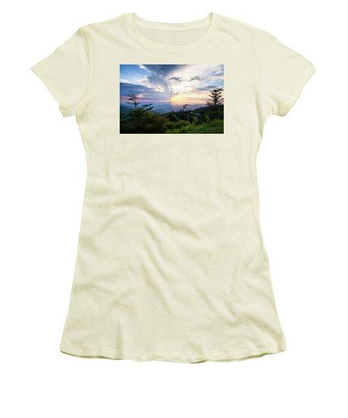 Yin And Yang Women's T-Shirt (Junior Cut) by Deborah Scannell