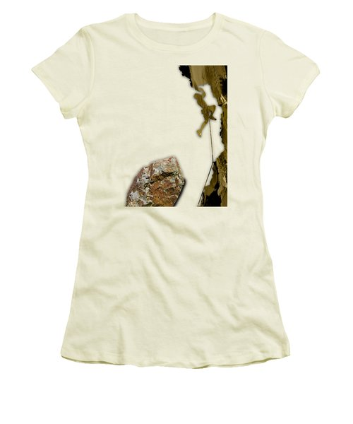 Rock Climber Collection Women's T-Shirt (Athletic Fit)