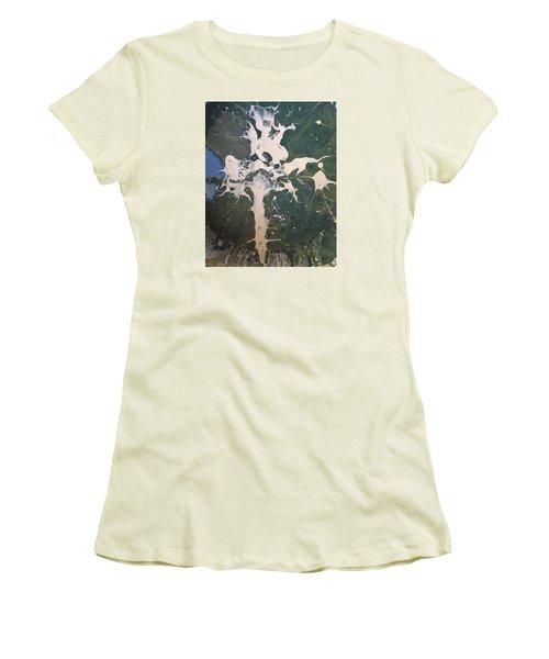 13 Th Century German Cross Women's T-Shirt (Junior Cut) by Gyula Julian Lovas