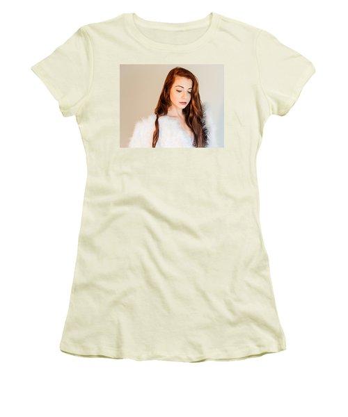 1859-4 Women's T-Shirt (Junior Cut) by Teresa Blanton
