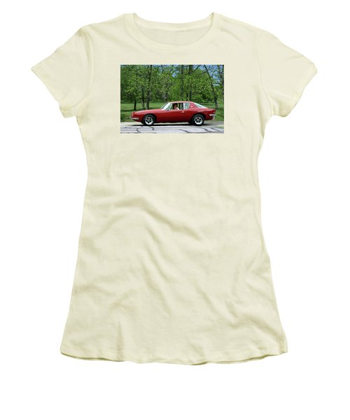 1963 Studebaker Avanti Coupe Women's T-Shirt (Athletic Fit)