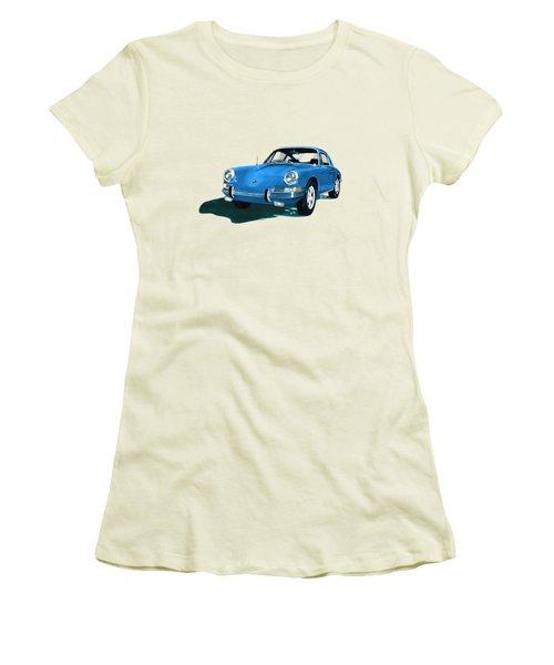 Porsche 911 1968 Women's T-Shirt (Junior Cut) by Jack Pumphrey