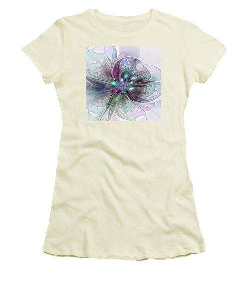 Abstract Art Women's T-Shirt (Athletic Fit)