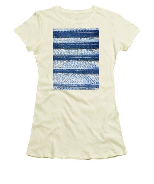 Blue Steps Women's T-Shirt (Athletic Fit)