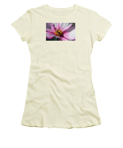 Busy Bee Women's T-Shirt (Junior Cut) by Yumi Johnson