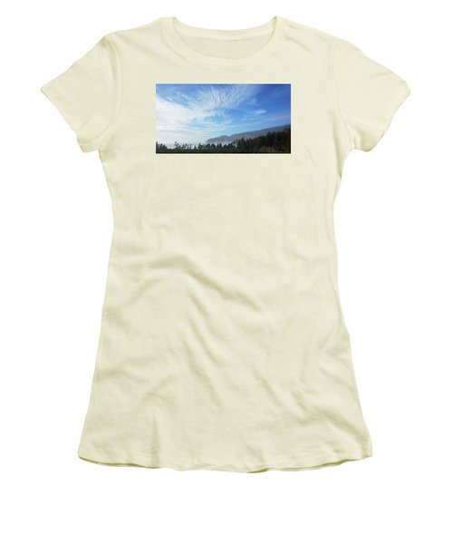 Cape Lookout Women's T-Shirt (Junior Cut) by Angi Parks