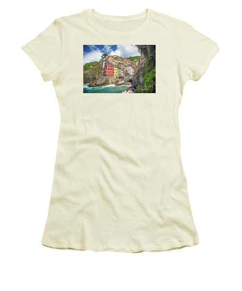 Colors Of Cinque Terre Women's T-Shirt (Athletic Fit)