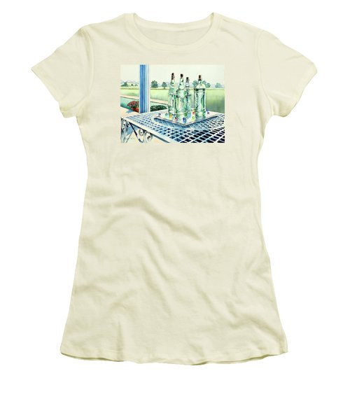 Marbles On Marble Women's T-Shirt (Athletic Fit)