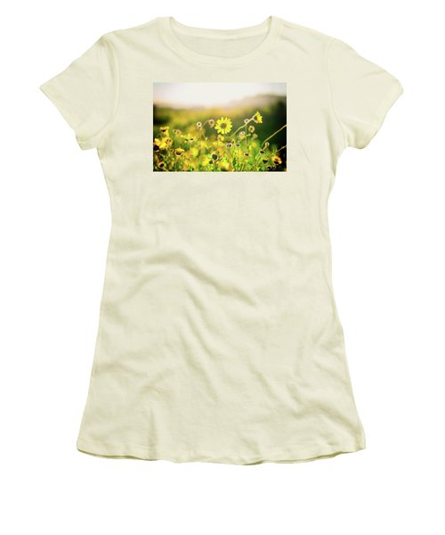 Nature's Smile Series Women's T-Shirt (Athletic Fit)