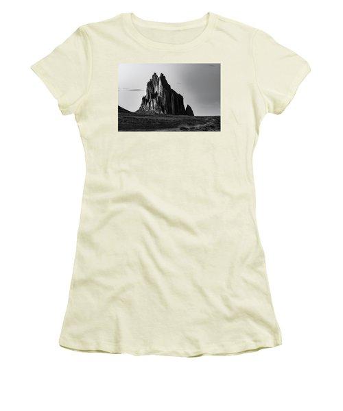 Remote Yet Imposing Women's T-Shirt (Junior Cut) by Jon Glaser
