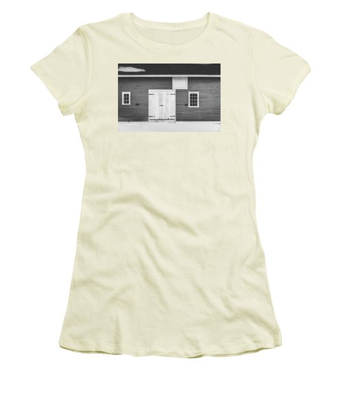 Shaker Village Women's T-Shirt (Athletic Fit)