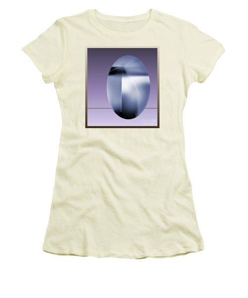 Women's T-Shirt (Junior Cut) featuring the digital art 2007-2 2017 by John Krakora