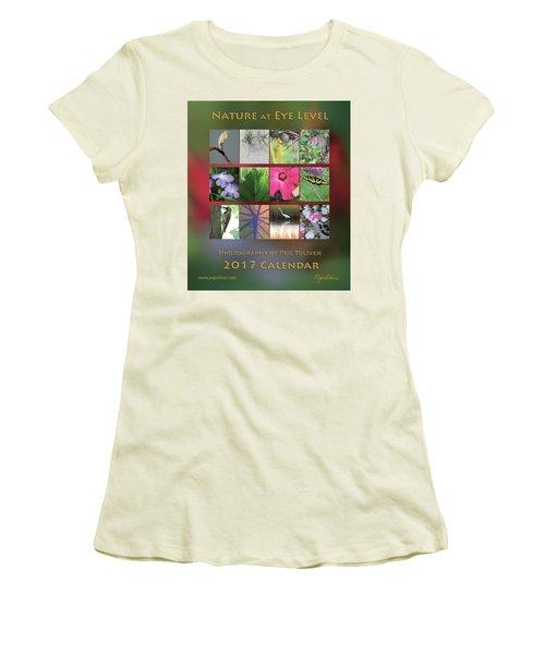 2017 Nature Calendar Women's T-Shirt (Athletic Fit)