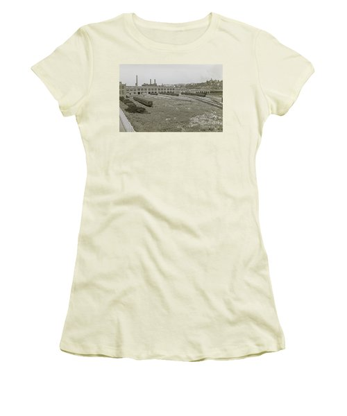 207th Street Railyards Women's T-Shirt (Athletic Fit)