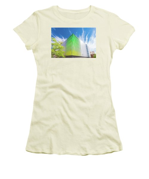 Modern Architecture Women's T-Shirt (Junior Cut) by Hans Engbers