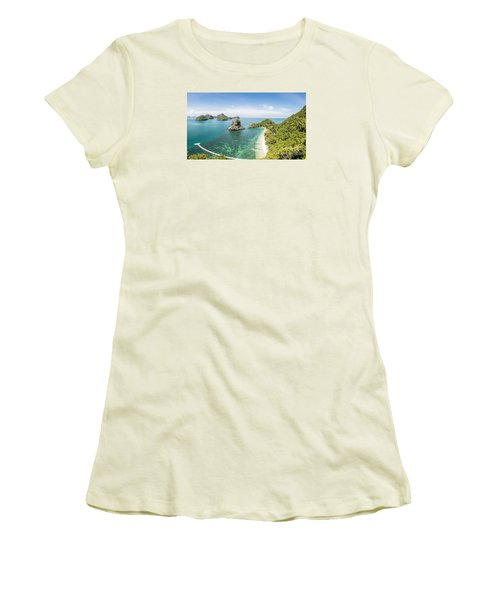 Ang Thong Marine National Park Women's T-Shirt (Athletic Fit)