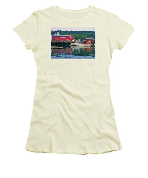 Booth Bay Women's T-Shirt (Athletic Fit)