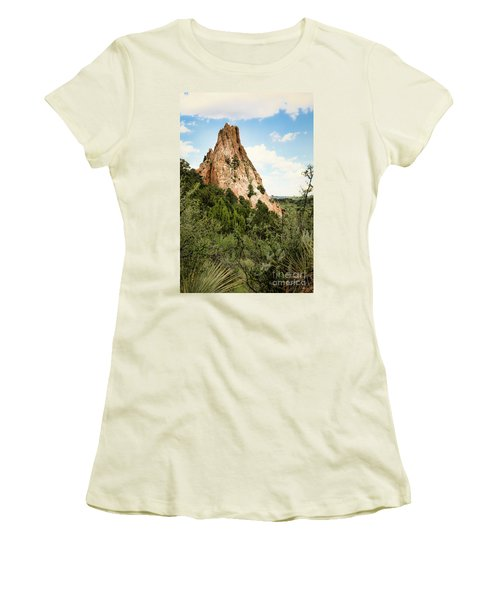 Colorado In Summer Women's T-Shirt (Athletic Fit)