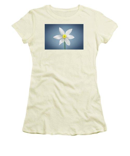 Women's T-Shirt (Junior Cut) featuring the photograph Flower Paradise by Bess Hamiti