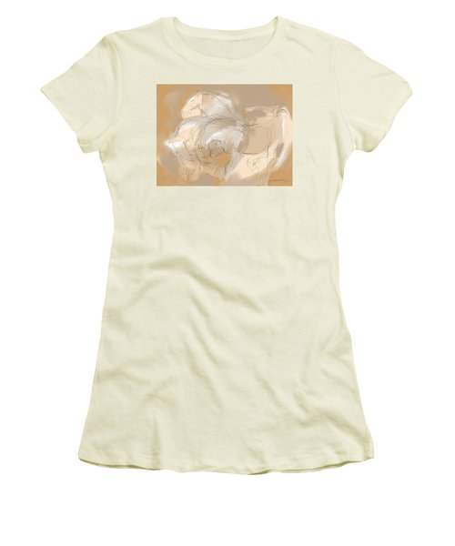 3 Horses Women's T-Shirt (Athletic Fit)