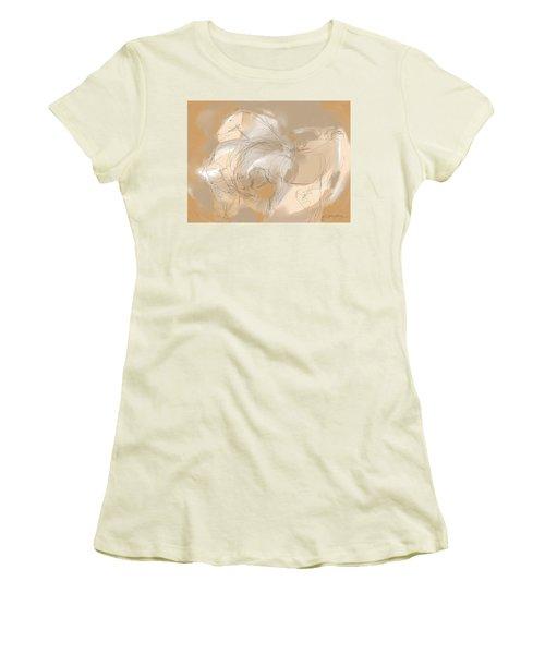 3 Horses Women's T-Shirt (Athletic Fit)