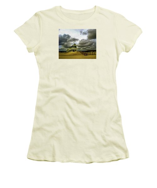 House At The End Of The Road Women's T-Shirt (Junior Cut) by Gordon Engebretson