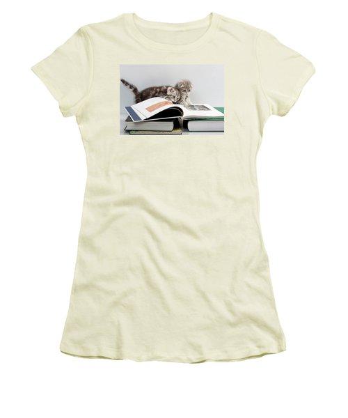 Scottish Fold Cats Women's T-Shirt (Athletic Fit)