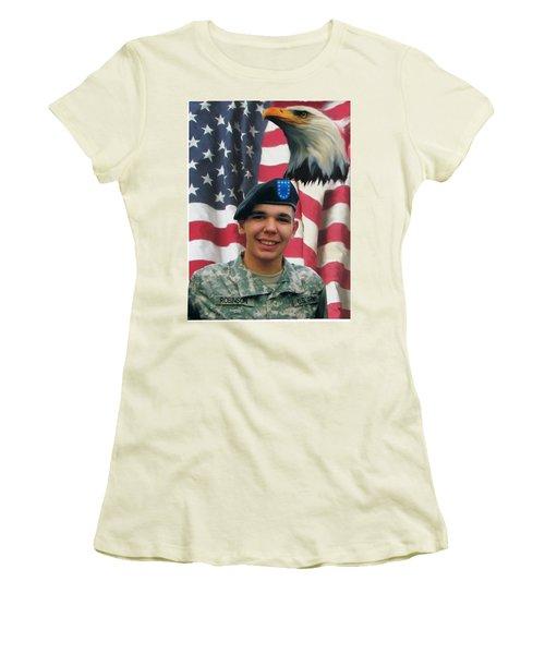 Texas Hero Women's T-Shirt (Athletic Fit)