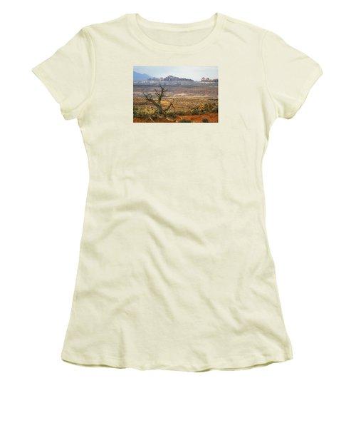 #3090 - Moab, Utah Women's T-Shirt (Athletic Fit)