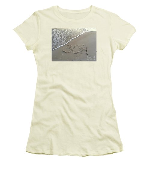 30a Beach Women's T-Shirt (Athletic Fit)