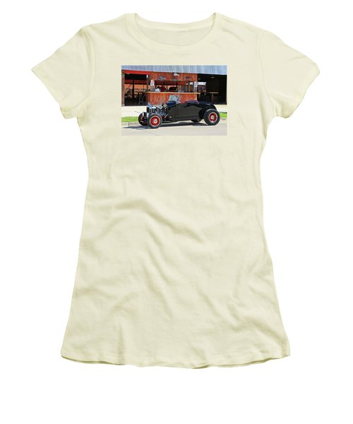 32 Roadster Women's T-Shirt (Junior Cut) by Christopher McKenzie