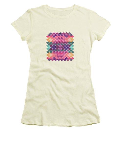 Lovely Pattern Women's T-Shirt (Junior Cut) by Amir Faysal