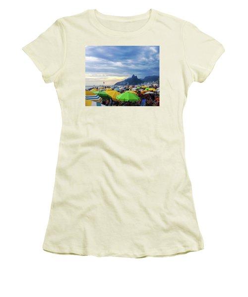 Rio De Janeiro Women's T-Shirt (Athletic Fit)