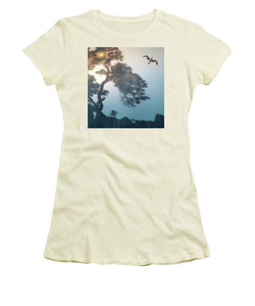 Women's T-Shirt (Junior Cut) featuring the photograph 4408 by Peter Holme III