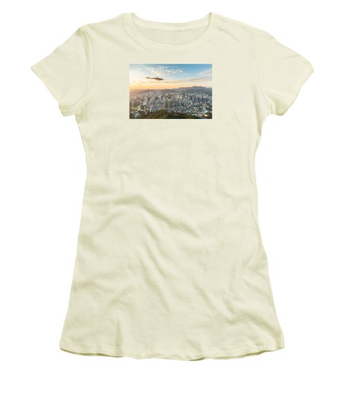 Sunset Over Seoul Women's T-Shirt (Athletic Fit)
