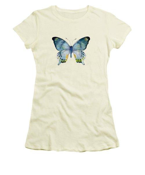 68 Laglaizei Butterfly Women's T-Shirt (Junior Cut) by Amy Kirkpatrick