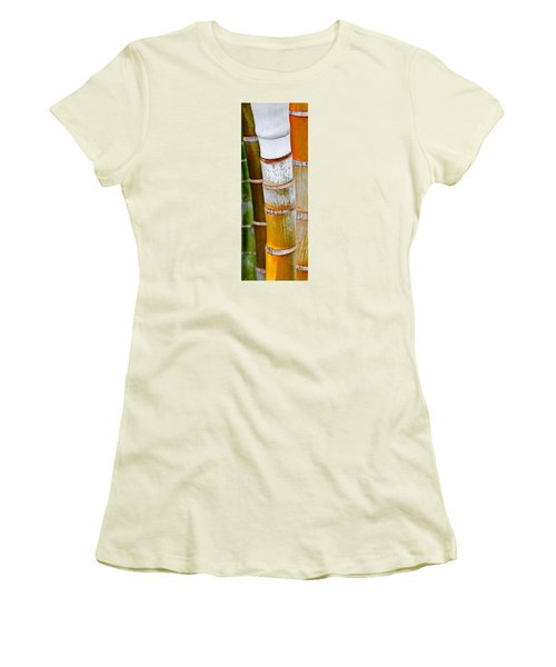 Women's T-Shirt (Junior Cut) featuring the photograph Bamboo Palm by Werner Lehmann
