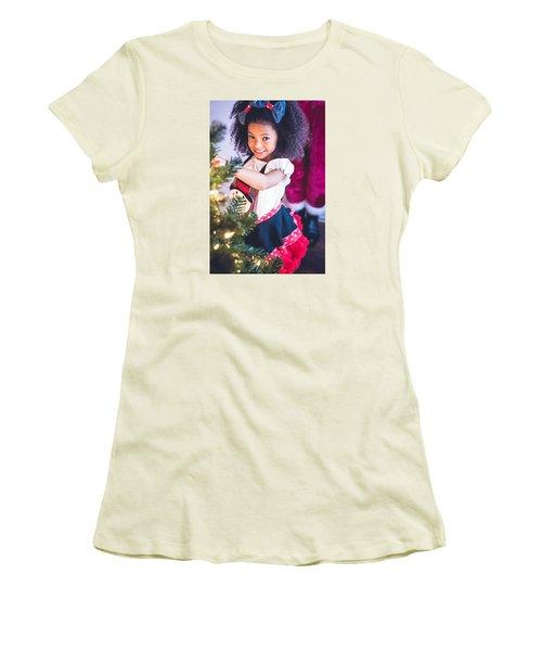 7411-2 Women's T-Shirt (Junior Cut) by Teresa Blanton