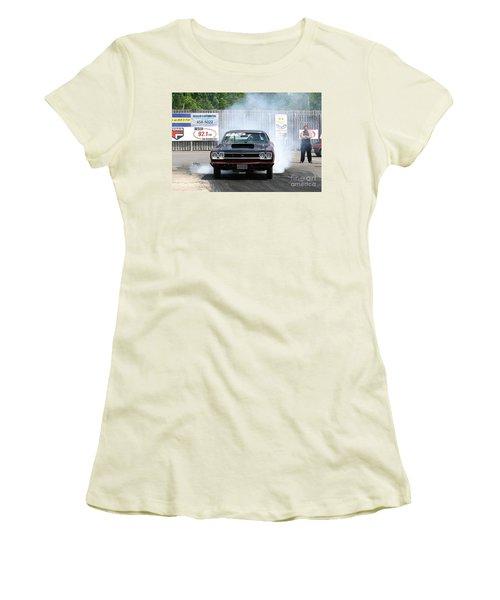 8688 06-15-2015 Esta Safety Park Women's T-Shirt (Athletic Fit)