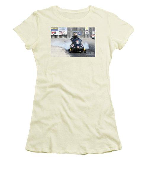 8763 06-15-2015 Esta Safety Park Women's T-Shirt (Athletic Fit)