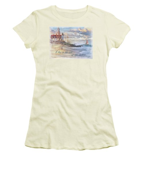 A Day In The Life At The Beach Women's T-Shirt (Athletic Fit)