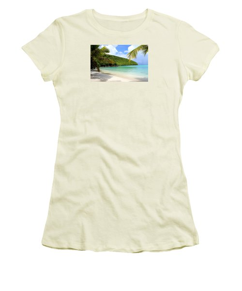 A Day With My Best Friend Women's T-Shirt (Junior Cut) by Fiona Kennard